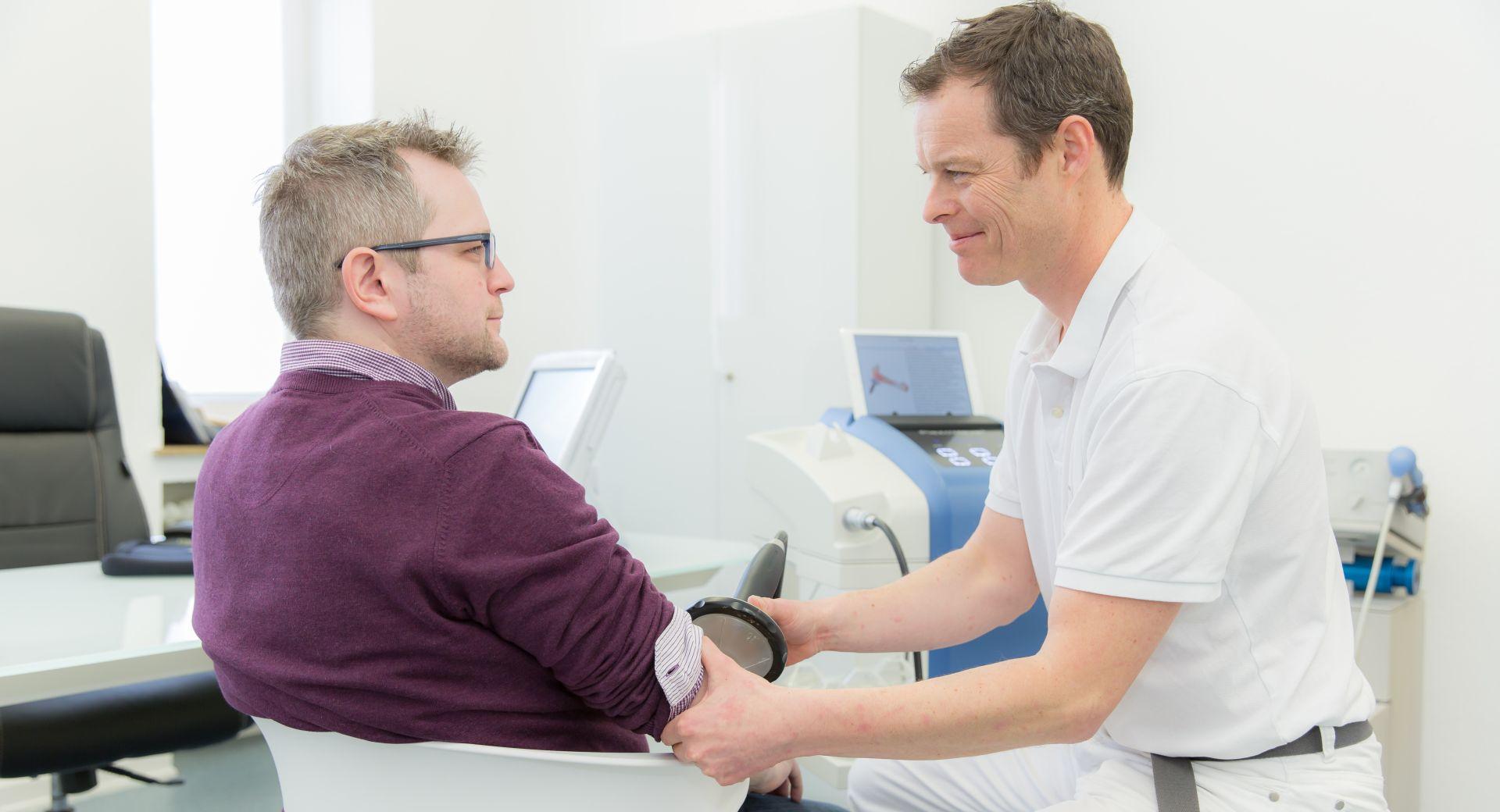 Stosswellentherapie von Carsten Wingenfeld in Bonn
